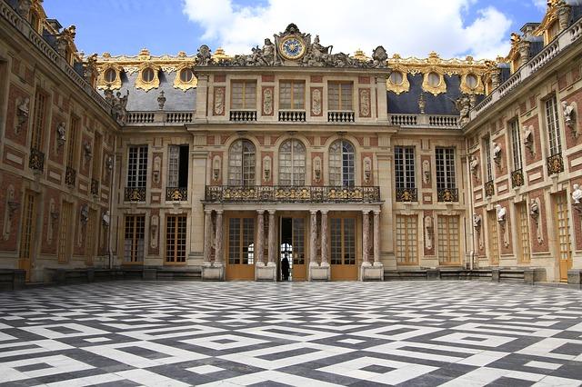 Kasteel van Versailles binnenplaats