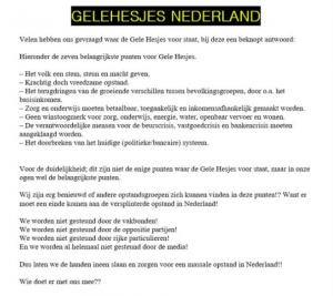 Gele hesjes Nederland