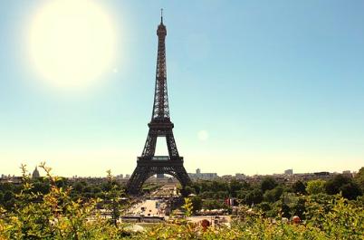lunch diner Eiffeltoren