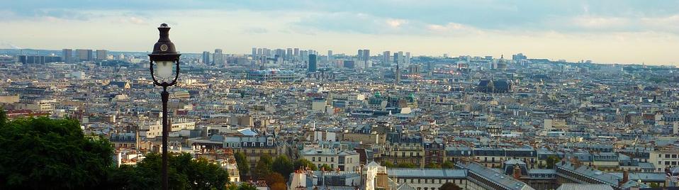 Parijs panorama