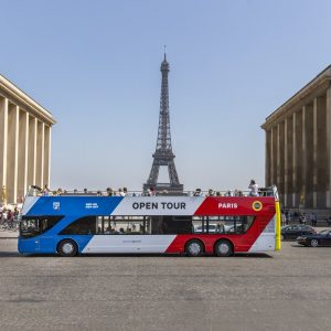 Hop-on Hop-off bus Parijs