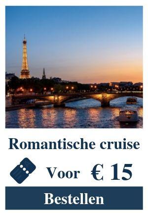 Cruise rivier Seine parijs