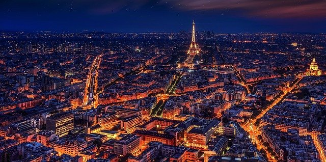 Trein naar Parijs