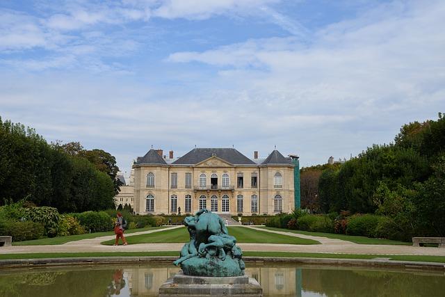 Musee rodin in Parijs